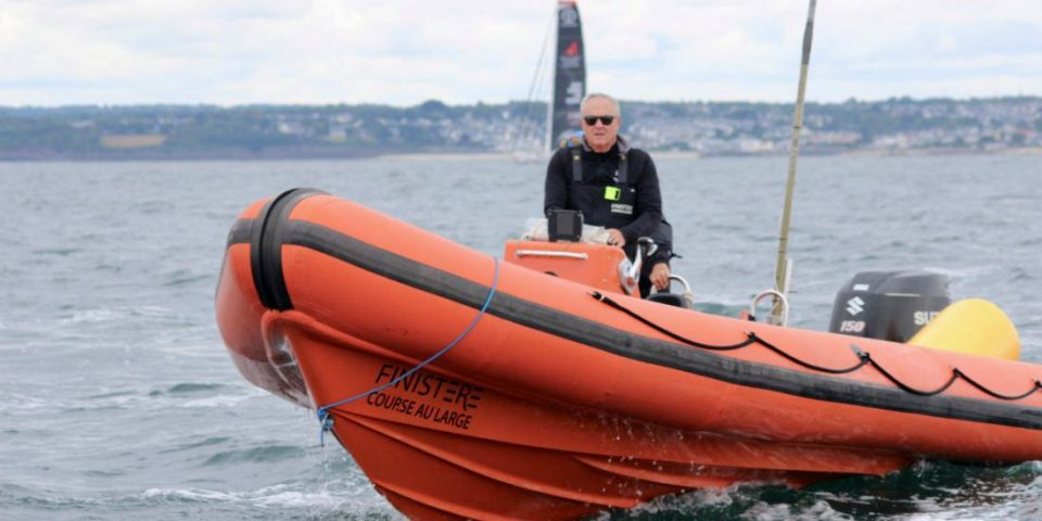 Christian Le Pape dirige depuis 30 ans le pôle Finistère course au large