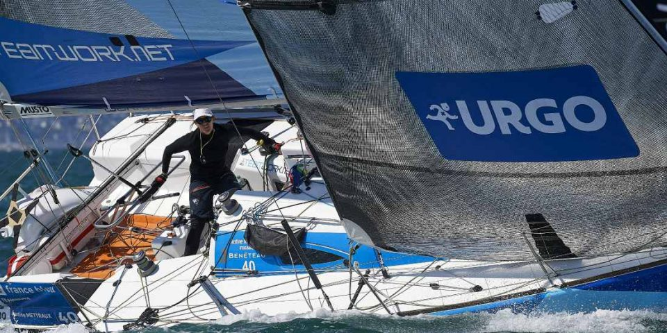 After for years on the Figaro circuit, Swiss Justine Mettraux wants to sail on other supports