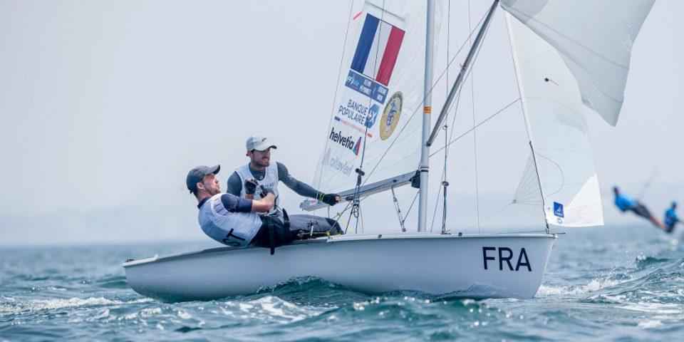 Banque Populaire soutient l'équipe de France de voile olympique