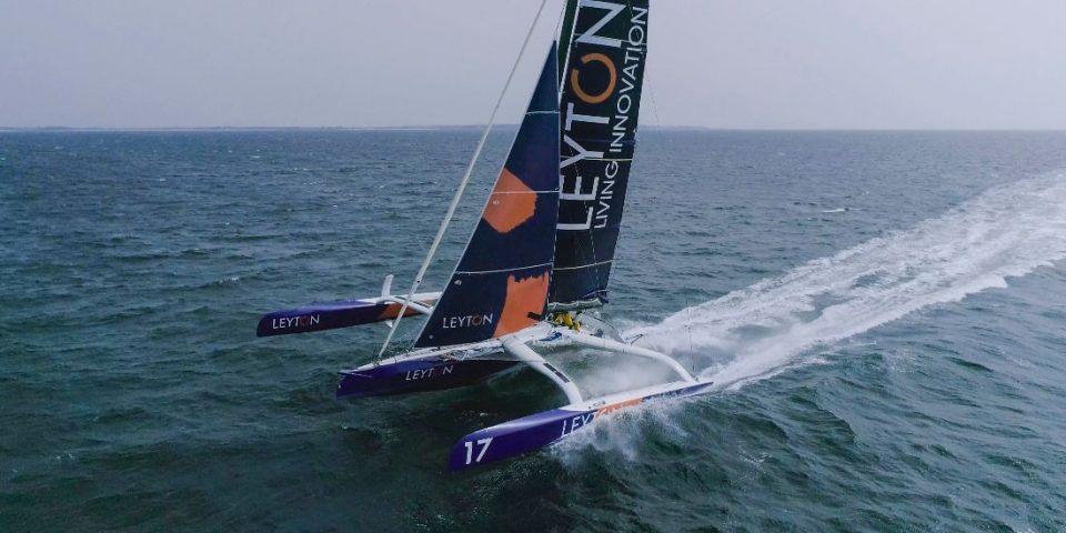Le trimaran Ocean Fifty Leyton de Sam Goodchild