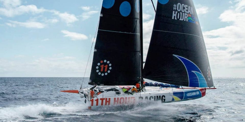 Nouvel Imoca 11th Hour Racing en navigation