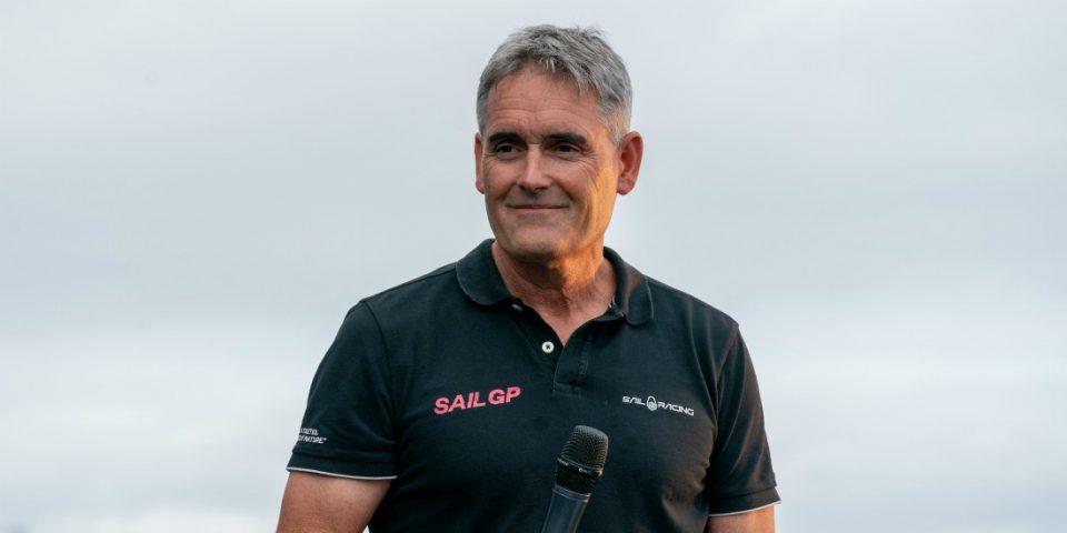 Russell Coutts attend beaucoup de la deuxième saison de SailGP