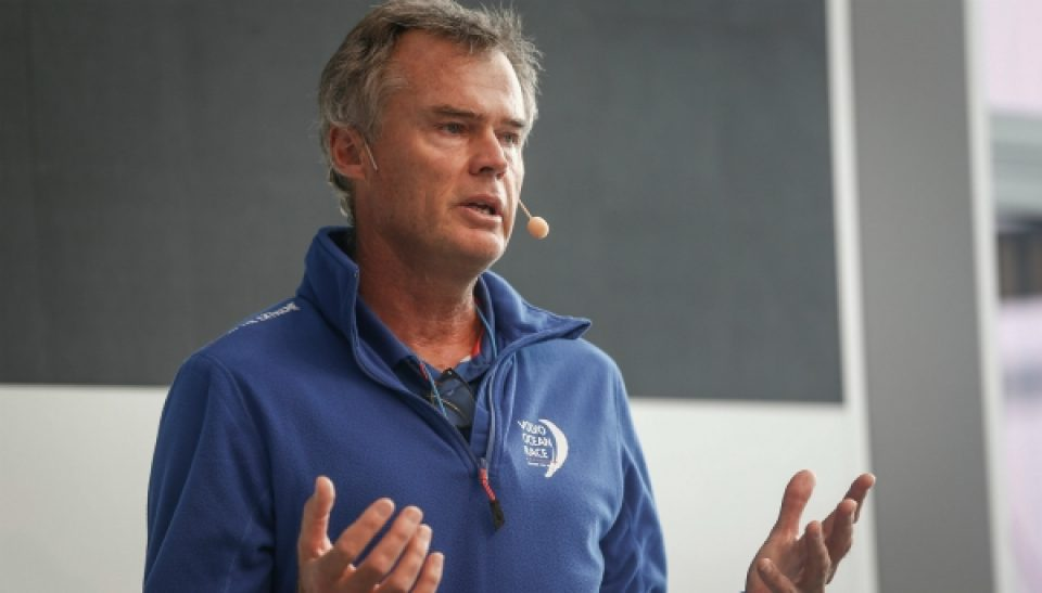Hong Kong Stopover. Ocean Summit. Johan Salén, Co-President Volvo Ocean Race. 22 January, 2018.
