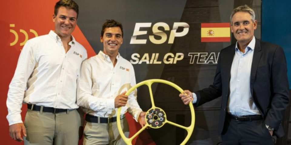 Spain SailGP Team unveiled by SailGP's CEO, Russell Coutts