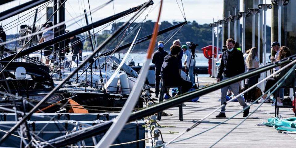 Les pontons de Lorient font le plein
