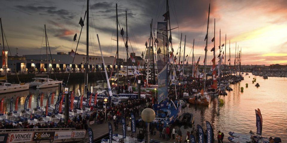 Les pontons du Vendée Globe 2020