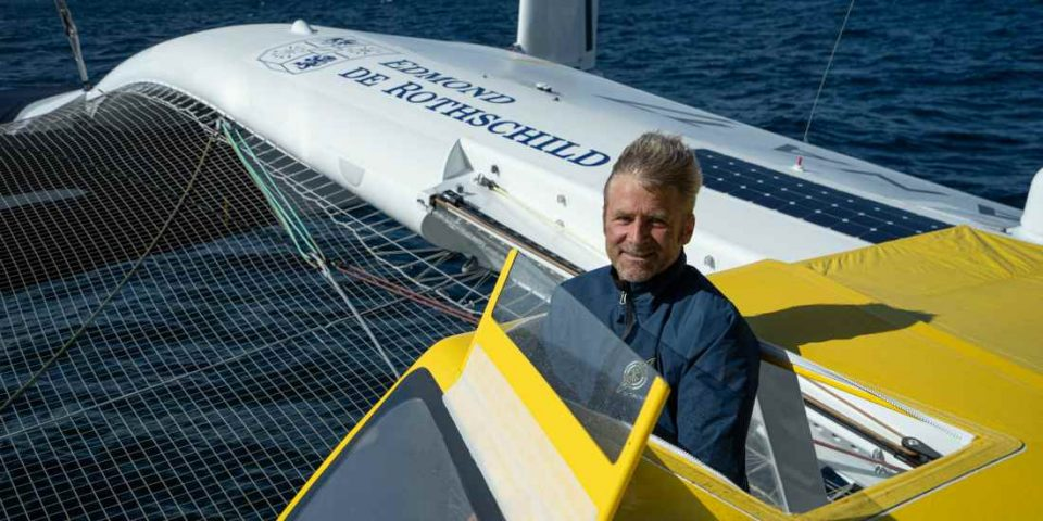 Yann Eliès fera partie de l'équipage du Maxi Edmond de Rothschild sur la Drheam Cup