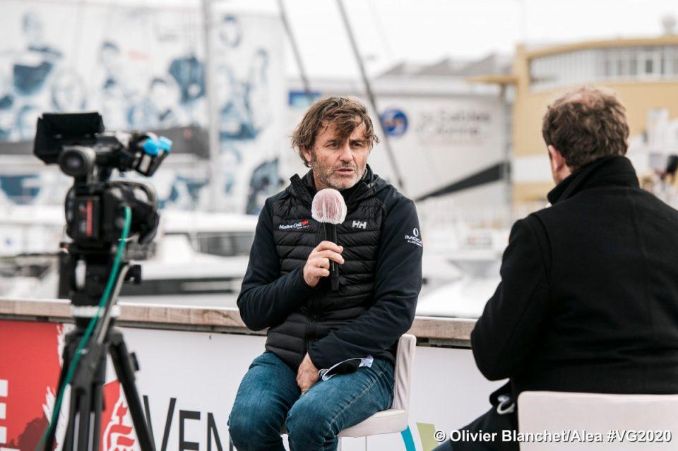 Yannick Bestaven très sollicité par les médias
