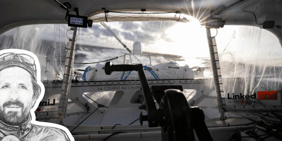 Yoann Richomme analyse le Vendée Globe
