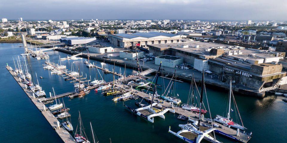 Lorient la base course au large